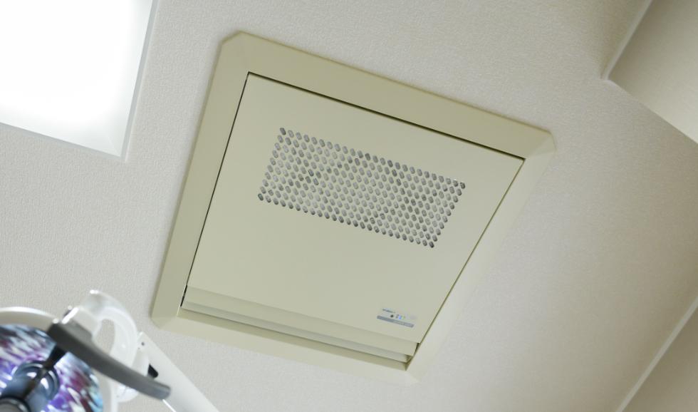 紫外線殺菌機能付き空気清浄機