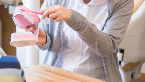 ご自身での歯磨き等についてのアドバイス